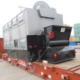chaudière à l'eau chaude 4.2MW allumée par charbon