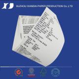 Roulis de papier de papier de roulis du courant ascendant 60mm de caisse comptable