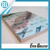 Progettare l'autoadesivo per il cliente variopinto del piccolo ologramma luminoso rotondo