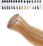 80colors Available를 가진 Hair Extension에 있는 실크 Straight Clip