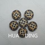 bouton de couture en plastique de la vente 4-Hole chaude pour Garement (HD1015-15)