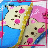 Il gatto del cotone del bambino ha stampato il cuscino di corsa della base della gomma piuma di memoria del lattice