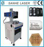Marcador da máquina da marcação do laser da fibra para anéis e escudos do telefone