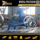 Estrazione mineraria colpendo il martello della roccia che schiaccia l'interruttore diesel del minerale metallifero della sabbia del macchinario