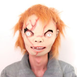 Tx Dernier design Full Face Horror Creep Fancy Dress Animal Latex Halloween Mask