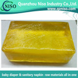 Cola de fusão quente de fralda de alta qualidade com SGS (AJ-026)