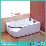 Bañera económica de acrílico del torbellino de la mejor calidad con el Ce (control neumático TLP-665)