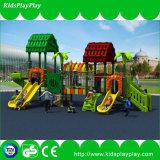 Verwendete im Freienspielplatz-Geräten-Spiel-Zelle für Kinder