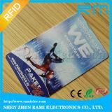 Tarjeta de la identificación del PVC del precio de fábrica con la impresión en color cuatro