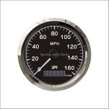 Vélomoteur populaire 160mph de tachymètre de 85mm GPS avec le contre-jour pour le tracteur de moto