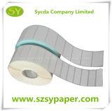 Collants de papier auto-adhésifs de roulis d'étiquette