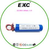 Botón de la célula Top 3.7V Li-ion recargable Exc 18650 2600