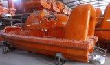 Tipo aberto barco salva-vidas da fibra de vidro do SOLAS com o certificado da aprovaçã0 da classe de CCS