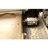 4개의 축선 CNC 대패 (180 도가 스핀들에 의하여 자전한다)