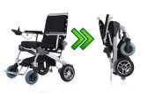 불리한 폴딩 전자 휠체어 힘 휠체어