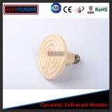 Elementi riscaldanti di ceramica infrarossi della lampadina
