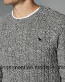 Одежды свитера втулки круглой шеи способа женщин OEM длинние (M17-307)
