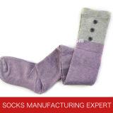 Baumwolle 100% der Frau Coloful Gefäß-Socke (UBM1052)