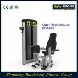 Abdutor exterior Btm-019 da coxa do equipamento da ginástica do edifício de corpo/equipamento comercial da aptidão