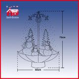 Delicadas granel plástico Navidad y Artes de la resina para la decoración