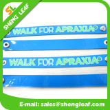 Bracelet bon marché en caoutchouc de PVC de coutume de promotion respectueuse de l'environnement