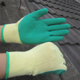 乳液によって塗られる手袋の労働の建物の手袋の安全作業手袋