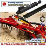 Geschweißter Pin-Augen-Zylinder für landwirtschaftliche Maschinerie-Hydrozylinder