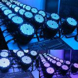 Het openlucht Waterdichte RGB 3in1 54X3w LEIDENE PARI kan Licht opvoeren