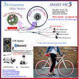 Bluetooth ! Moteur électrique de hub de kit de conversion de bicyclette/Brushelss&Gearless
