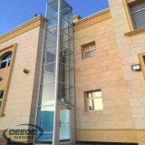 Ascenseur résidentiel commercial de Vvvf de petite Chambre de levage en verre à la maison