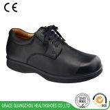 Schoenen van het Comfort van de Schoenen van de Diepte van het Leer van de Schoenen van de Gezondheid van de gunst verhinderen de Echte Diabetes voor DiabetesVoet