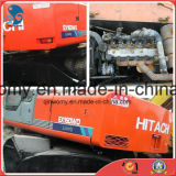 0.6cbm/16ton usati Giappone-Fanno l'escavatore della gomma della Hitachi Ex160wd della Idraulico-Pompa del Isuzu-Motore 6cylinders