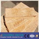 Panneau insonorisant décoratif de mur de copeaux de bois