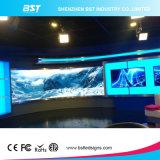 La mejor pantalla de visualización curvada de interior de LED de la calidad P4 para la instalación fija