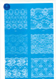 Merletto largo ordinario per vestiti/indumento/pattini/sacchetto/caso 3131 (larghezza: 7cm)