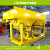 沖積またはWolframeの鉱石の製造プラントのための鉄マンガン重石のジグの分離器
