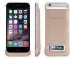 Cas de remplissage de batterie de côté d'alimentation externe pour l'iPhone 6/6s (HB-137)