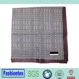Pañuelo tejido teñido puro del telar jacquar de los hombres del estilo del hilo de algodón