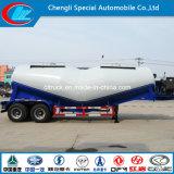 2 ejes Bulk Cement Powder Tank Trailer Camión de cemento Gooseneck