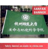 Выдвиженческая напольная рука рекламируя флаг, флаг спортов