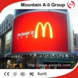 P6 Outdoor Curved LED Display Screen Panel per Video Advertizing