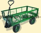 Het jumbo Platform van de Wagen van het Krat Dolly door Sandusky Kabinetten