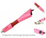 Ferro quente da cor-de-rosa da varinha do aplicador do Rhinestone do reparo do uso da HOME do preço de grosso no aplicador quente do reparo