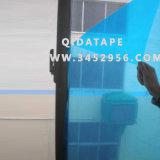 Couleur de bleu de film protecteur en verre de guichet