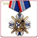 Calidad Superior suave Promoción esmalte Evento Medalla del metal plateado