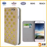 Caixa barata de couro do telefone móvel para o iPhone 6
