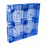 Pallet di plastica piano cruciforme resistente della forte struttura