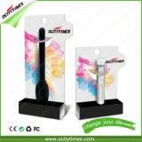 Batterie rechargeable de contact de 510 bourgeons d'E-Cigarette d'Ocitytimes 280mAh avec le module d'OEM/ODM
