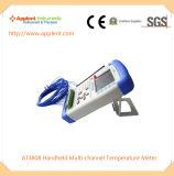 USBインターフェイス(AT4808)が付いている携帯用温度データ自動記録器