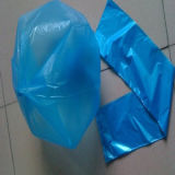 Sacchetto di rifiuti sigillato stella di plastica trasparente di colori e blu